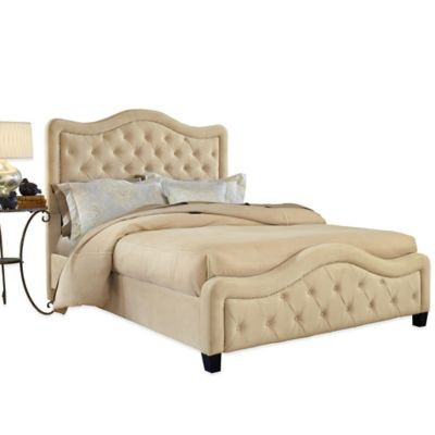 Hillsdale Trieste King Bed in Buckwheat