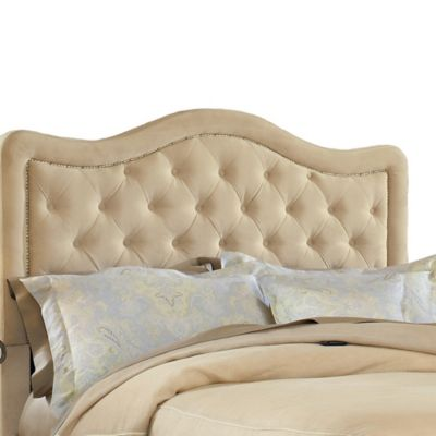 Hillsdale Trieste Queen Headboard with Rails in Chocolate
