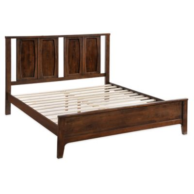 Zuo® Modern Portland King Bed in Walnut