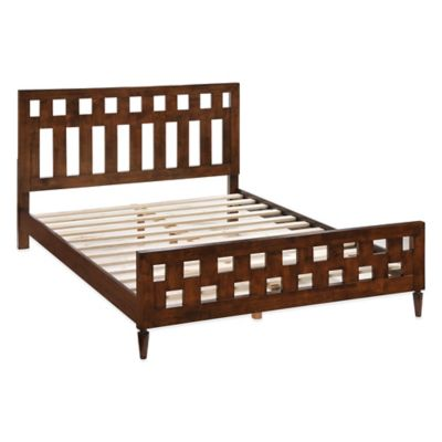 Zuo® Modern LA King Bed in Walnut