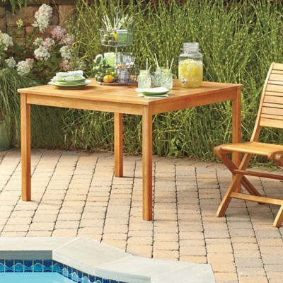 Westerly Acacia Wood 4-Person Dining Table