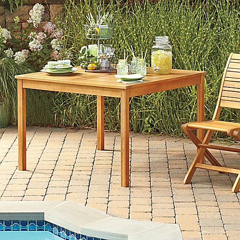 Westerly Acacia Wood Outdoor Dining Table