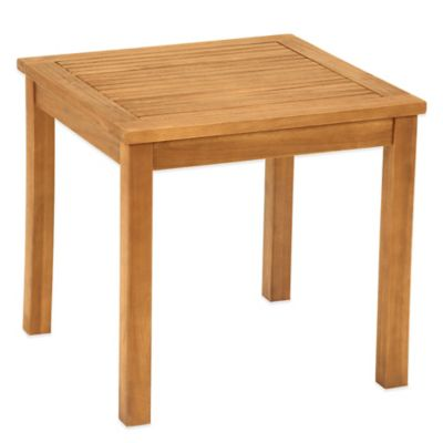 Westerly Acacia Wood Side Table