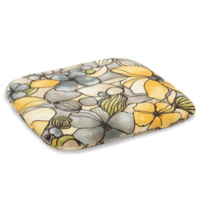 Outdoor Chair Cushion in Whitlock Yellow