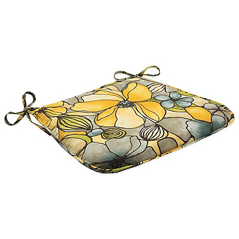 Buy Outdoor Bistro Chair Cushion With Ties In Whitlock