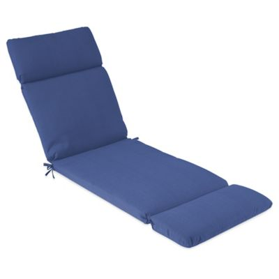 Outdoor Chaise Cushion in Pool