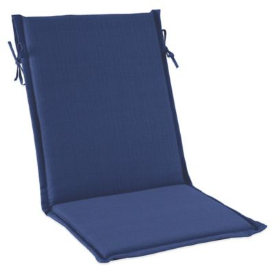 Outdoor Sling Cushion with Ties in Pool