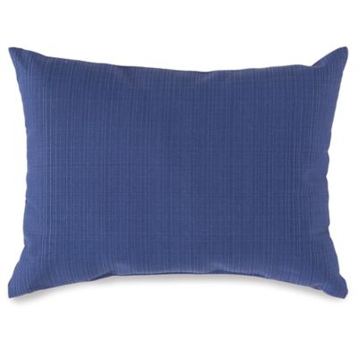 12-Inch x 16-Inch Outdoor Oblong Throw Pillow in Pool