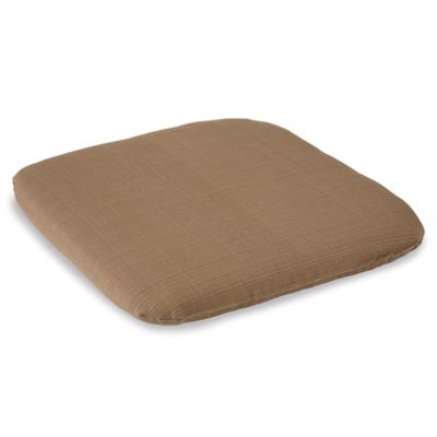 Outdoor Chair Cushion in Camel