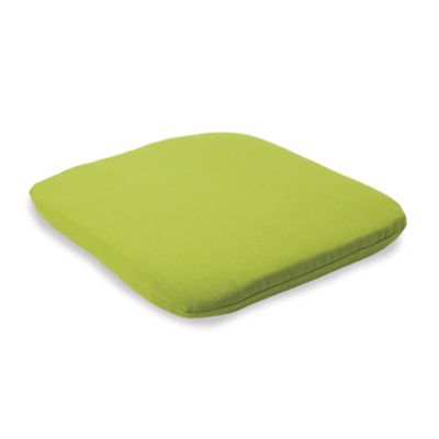 Solid Outdoor Chair Cushion in Kiwi