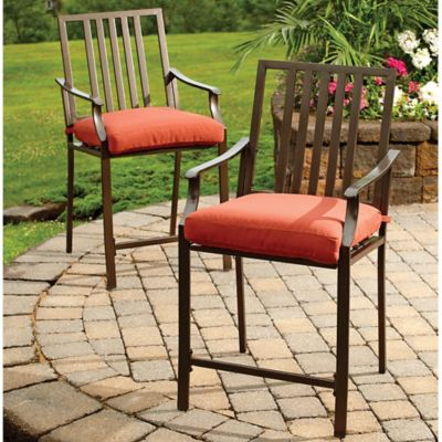 Slate Balcony-Height Chairs (Set of 2)