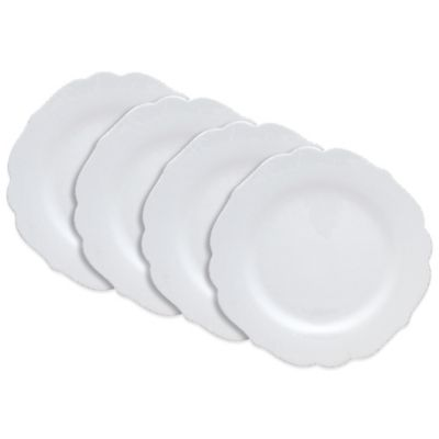 Dena™ Home Pavillion Dinner Plates in White (Set of 4)