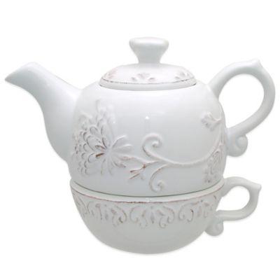 Dena™ Home Pavillion Tea for One in White