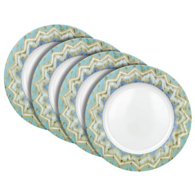 Dena™ Home Jaida Dinner Plates in Blue (Set of 4)