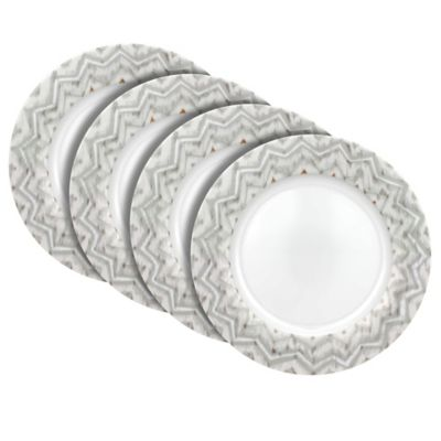 Dena™ Home Jaida Bone Dinner Plates in White (Set of 4)