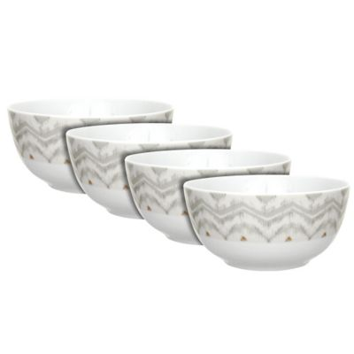 Dena™ Home Jaida Bone Soup Bowls in White (Set of 4)