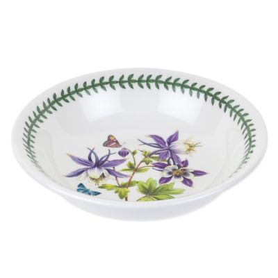 Portmeirion® Exotic Botanic Garden Medium Dragonfly Low Pasta Serving Bowl