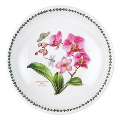 Portmeirion® Exotic Botanic Garden Large Moth Orchid Low Pasta Serving Bowl