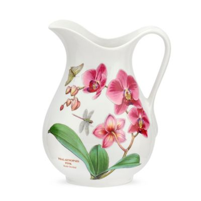 Portmeirion® Exotic Botanic Garden Dragonfly and Moth Orchid Pitcher