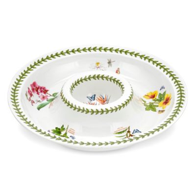 Portmeirion® Exotic Botanic Garden Chip and Dip Platter