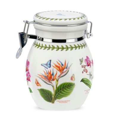 Portmeirion® Exotic Botanic Garden Bird of Paradise and Red Ginger Preserve Jar