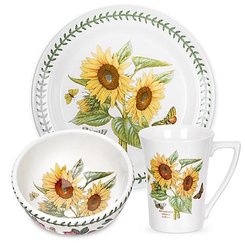 Portmeirion 174 Botanic Garden Sunflower Dinnerware
