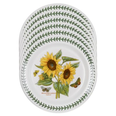 Portmeirion® Botanic Garden Sunflower Dinner Plates (Set of 6)