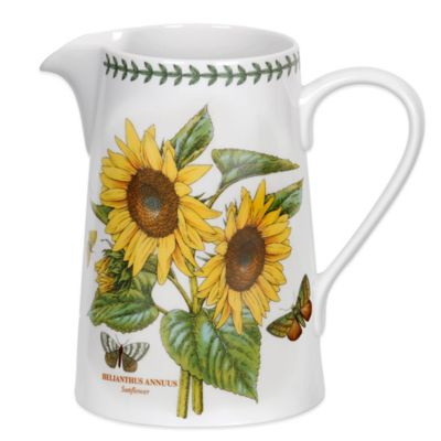 Portmeirion® Botanic Garden Sunflower Bella Jug
