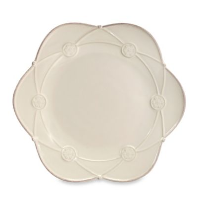 Meridian Cream 9-1/2-Inch Decorated Salad Plate