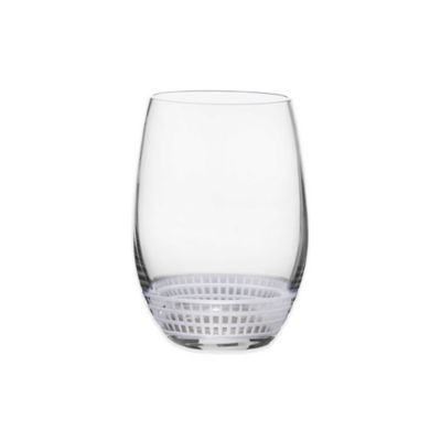 Mikasa® Talia Platinum Stemless Wine Glass