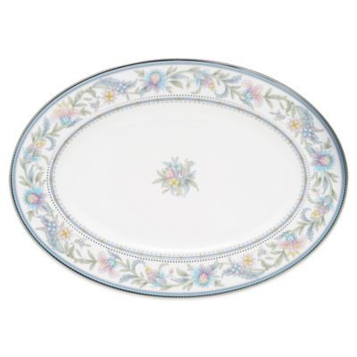 Noritake® Jardin Fleuri 14-Inch Oval Platter
