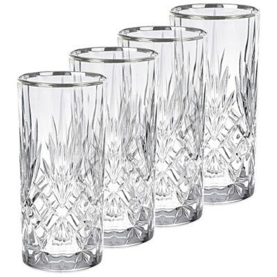 Silver Highball Glasses