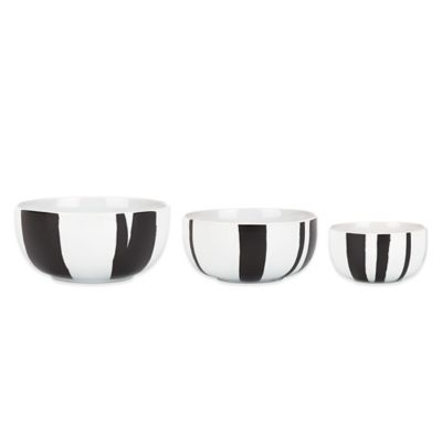 DKNY Lenox® Urban Graffiti 3-Piece Nesting Bowl Set