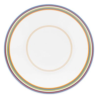 DKNY Lenox® Urban Essentials Dinner Plate in White
