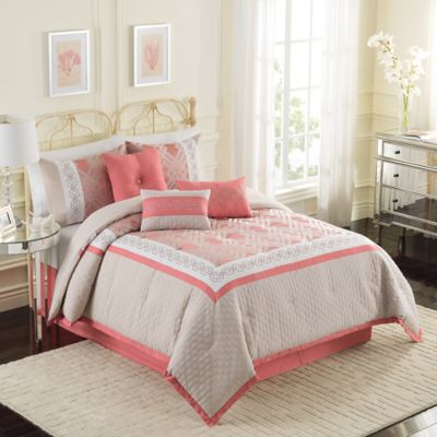 Ellery Homestyles Studio Bella Fashion 7-Piece Queen Comforter Set