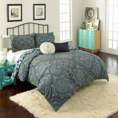 Vue Kapalua Reversible Twin Comforter Set