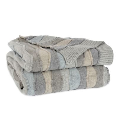 Berkshire Luxe Boutique Wave Knit Throw