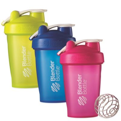 BlenderBottle® Classic™ 20 oz. Full Color Bottle w/Loop in Pink