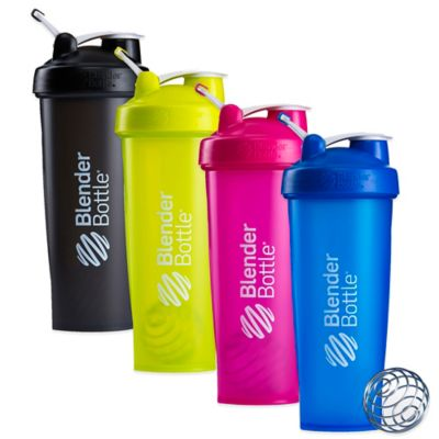 BlenderBottle® Classic™ 32 oz. Full Color Bottle w/Loop in Blue