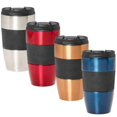 Cuisinart® Double Walled Single Serve Travel Mug in Silver