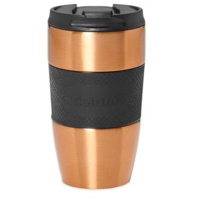 Cuisinart® Double Walled Single Serve Travel Mug in Copper