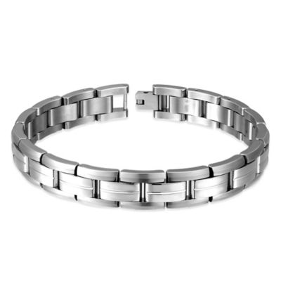 Titanium 9-Inch Men's Link Bracelet