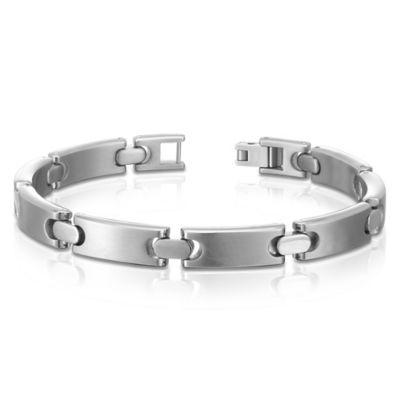 Titanium 8-Inch Classic Men's Link Bracelet