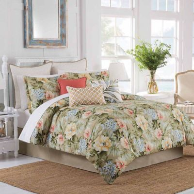 Coastal Life Luxe Isla Verde California King Comforter Set