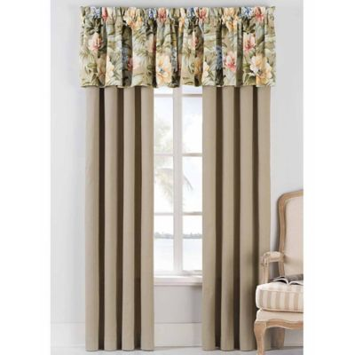 Coastal Life Luxe Isla Verde 84-Inch Window Panel Pair