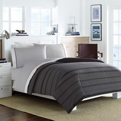 Nautica® Sebec Queen Comforter Set in Grey/Multi