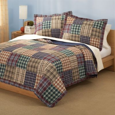 Twin and Full Plaid Quilts