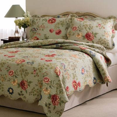 Eden's Garden Full/Queen Quilt Set