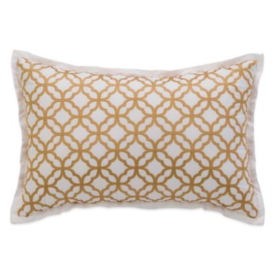 Coastal Life Luxe Isla Verde Oblong Throw Pillow