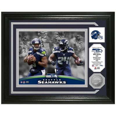 "NFL Seattle Seahawks ""Beast Mode"" Coin Photo Mint"